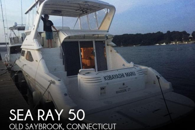 1997 Sea Ray 440 Express Bridge - For Sale at Old Saybrook, CT 6475 - ID 122510