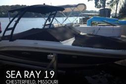 2016 Sea Ray 19 SPX
