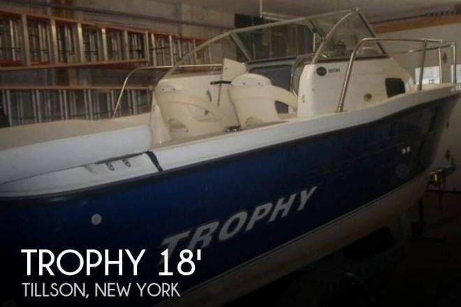 2006 Trophy 1802 Walkaround - For Sale at Tillson, NY 12486 - ID 58427