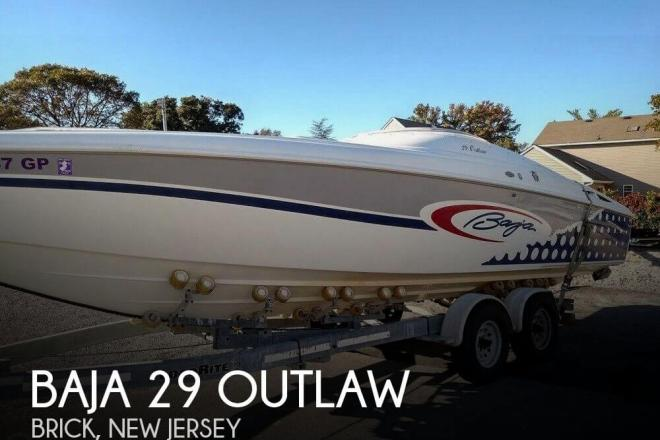 2001 baja 29 outlaw 29 foot 2001 high performance motor for Used outboard motors nj