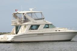 1998 Sea Ray 550 Sedan Bridge