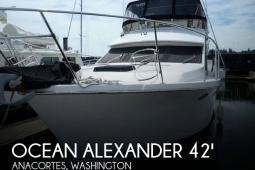 1986 Ocean Alexander Sundeck 42
