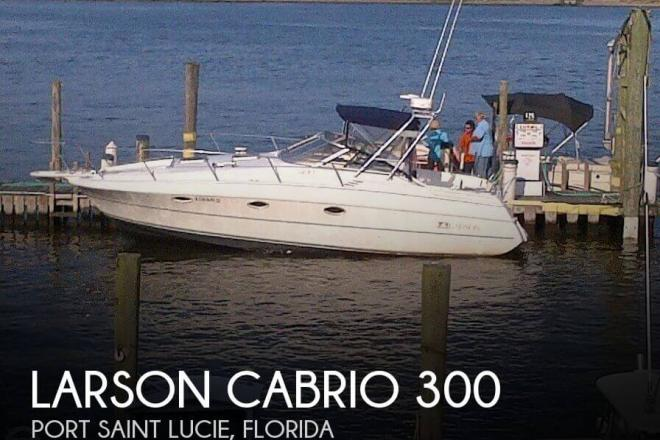 1994 Larson Cabrio 300 - For Sale at Port Saint Lucie, FL 34953 - ID 124211