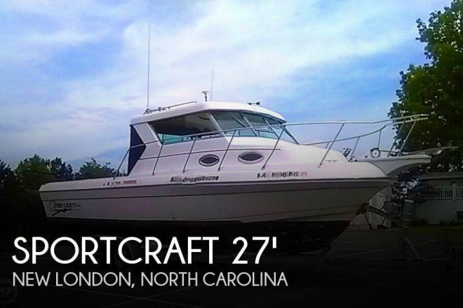 2000 Sportcraft 272 Sportfish - For Sale at New London, NC 28127 - ID 120183