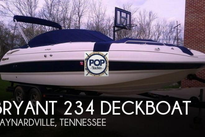 2004 Bryant 234 Deckboat - For Sale at Maynardville, TN 37807 - ID 66642