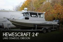2014 Hewescraft 240 Pacific Cruiser