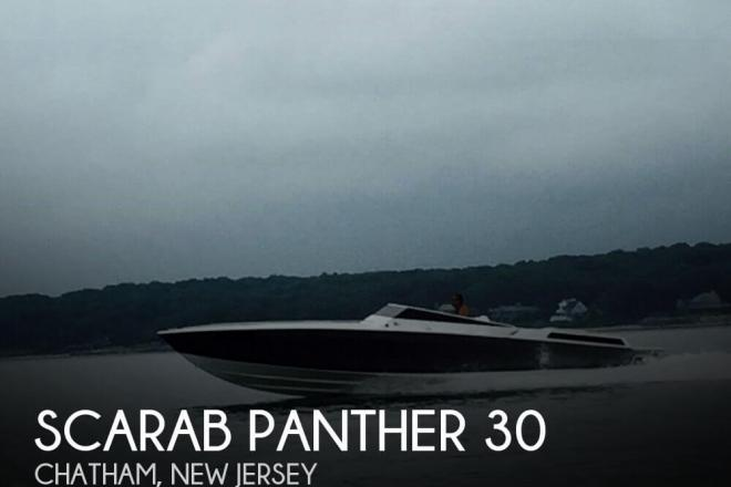 1988 Scarab Panther 30 - For Sale at Southold, NY 11971 - ID 124004