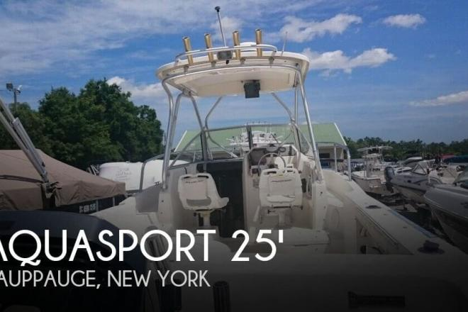 2002 Aquasport 250 Explorer - For Sale at Hauppauge, NY 11788 - ID 119129