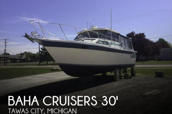 1988 Baha Cruisers 310 Sportfisherman - For Sale at Au Gres, MI 48703 - ID 76934
