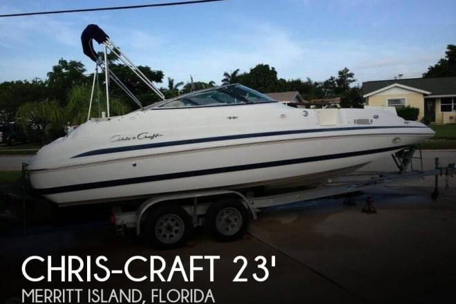 2001 Chris Craft Sport Deck 232 - For Sale at Merritt Island, FL 32952 - ID 124107
