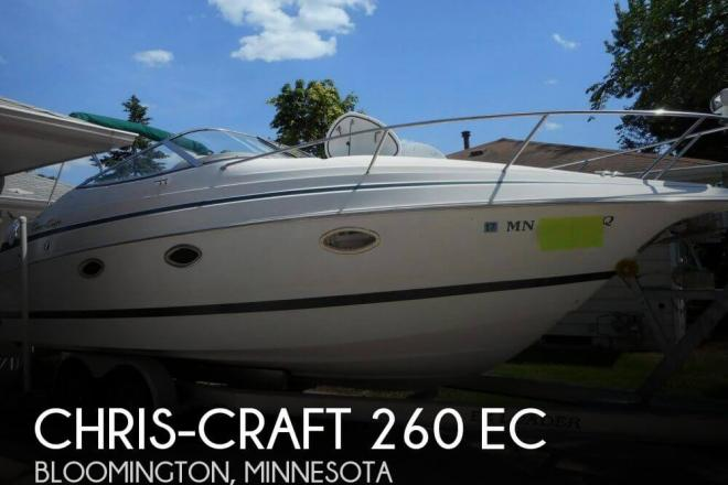 1999 Chris Craft 260 EC - For Sale at Bloomington, MN 55420 - ID 78029