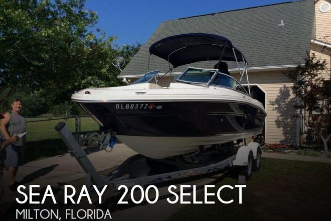 2006 Sea Ray 200 Select - For Sale at Milton, FL 32570 - ID 31777