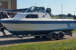 1988 Sportcraft 242 offshore