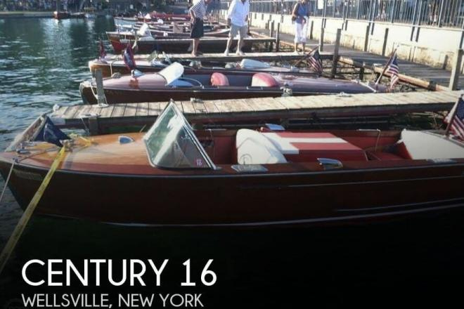 1959 Century 16 Resorter - For Sale at Wellsville, NY 14895 - ID 125067