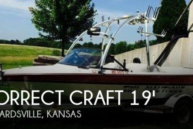 1996 Correct Craft Ski Nautique 196 Signature Edition - For Sale at Edwardsville, KS 66113 - ID 95638