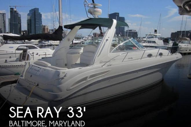 2000 Sea Ray 340 Sundancer - For Sale at Baltimore, MD 21201 - ID 100818