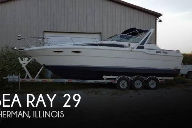 1988 Sea Ray 300 Weekender - For Sale at Sherman, IL 62684 - ID 125364