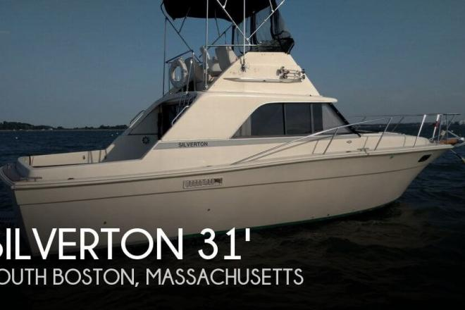 1979 Silverton 31 convertible sedan - For Sale at South Boston, MA 2127 - ID 124777