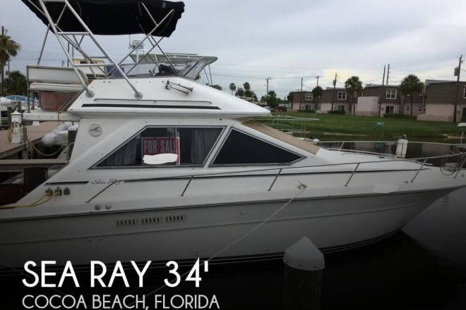 1989 Sea Ray 340 Sedan Bridge - For Sale at Cocoa Beach, FL 32931 - ID 125086