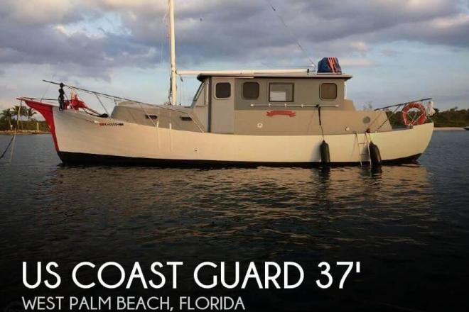 1934 US Coast Guard 37 Motor Life Boat - For Sale at West Palm Beach, FL 33401 - ID 125652