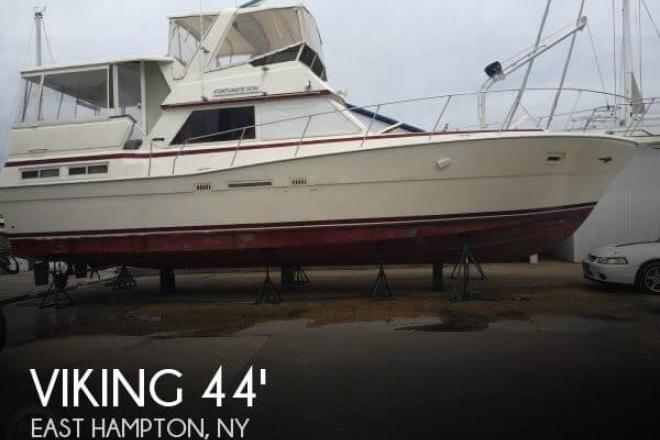 1984 Viking 44 Motor Yacht - For Sale at East Hampton, NY 11937 - ID 125917