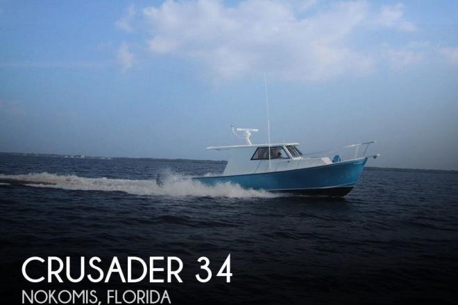 2004 Crusader 34 Express Fisherman - For Sale at Nokomis, FL 34274 - ID 126044