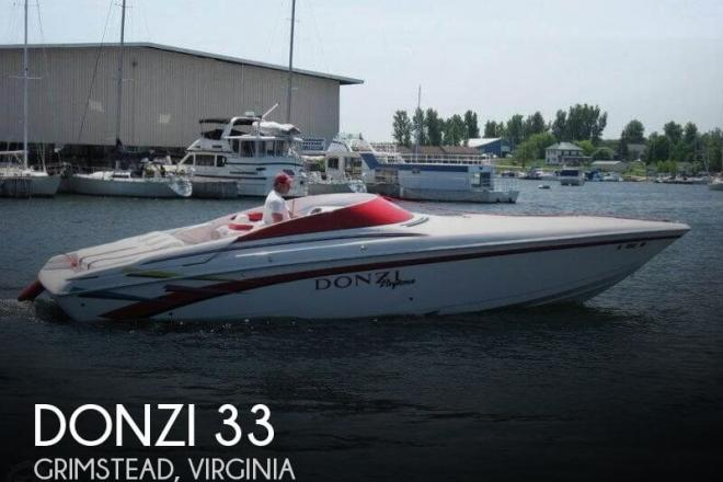 1998 Donzi 33ZX Daytona - For Sale at Grimstead, VA 23064 - ID 126293
