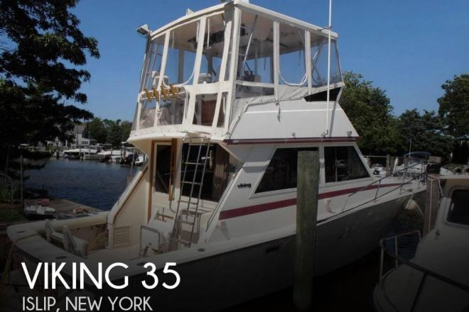 1986 Viking 35 Convertible - For Sale at Bay Shore, NY 11706 - ID 126851