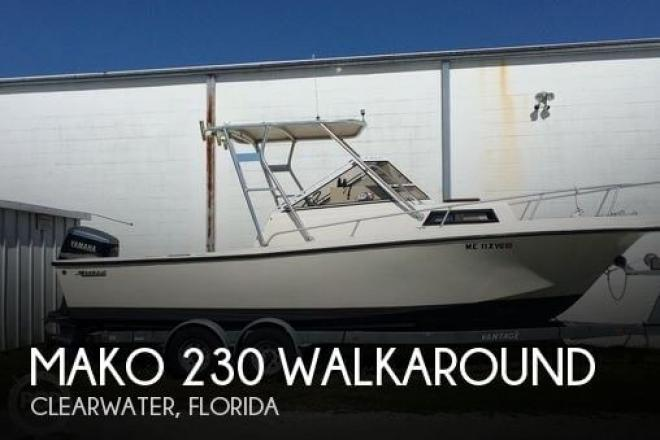 1988 Mako 230 Walkaround - For Sale at Clearwater, FL 33755 - ID 110485