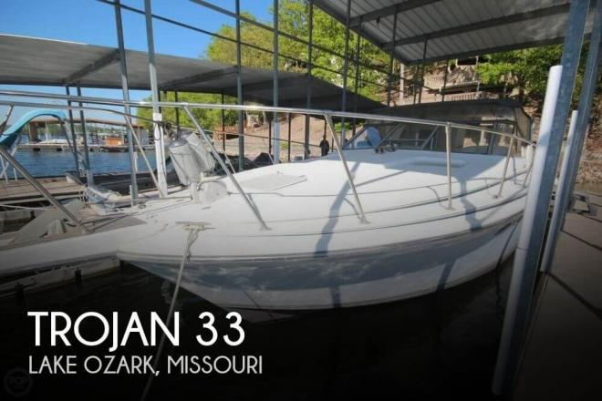 1988 Trojan 10 Meter Mid-Cabin Express - For Sale at Lake Ozark, MO 65049 - ID 127018
