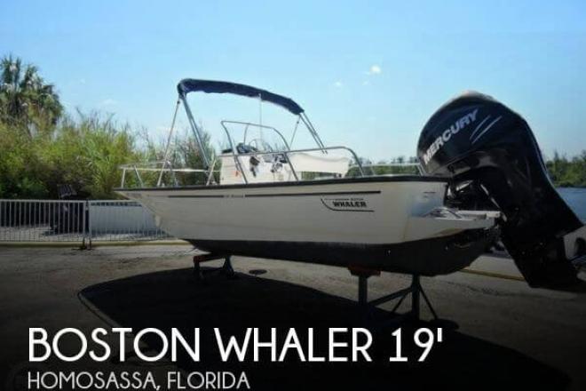 2008 Boston Whaler 190 montauk - For Sale at Homosassa, FL 34446 - ID 126615