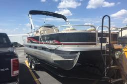 2012 Sun Tracker Fishing Barge 22DLX