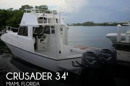 2003 Crusader 34 Express Fisherman