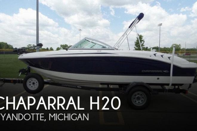 2014 Chaparral H20 Fish & Ski - For Sale at Wyandotte, MI 48192 - ID 96366