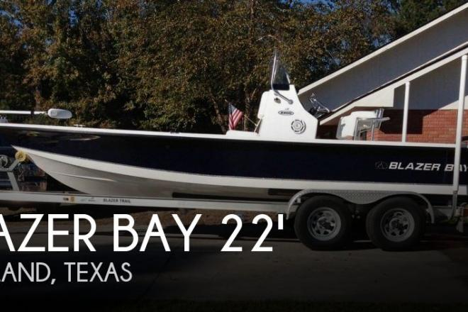 2013 Blazer Bay 2200 Bay Center Console - For Sale at Pearland, TX 77581 - ID 76747
