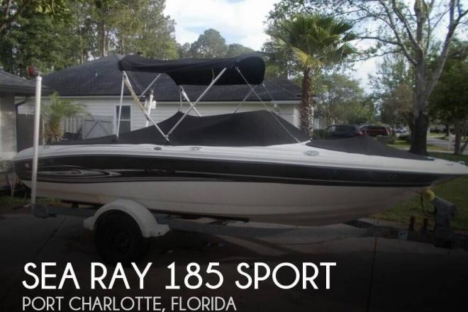 2005 Sea Ray 185 Sport - For Sale at Port Charlotte, FL 33948 - ID 79591