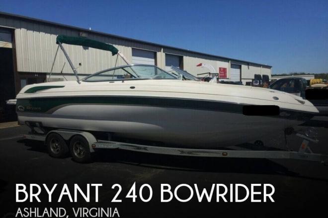 2007 Bryant 240 Bowrider - For Sale at Ashland, VA 23005 - ID 103575