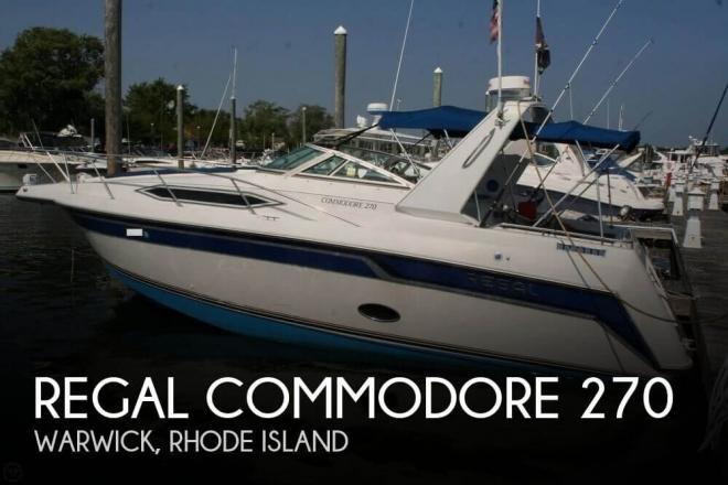 1991 Regal Commodore 270 - For Sale at Warwick, RI 2886 - ID 77037