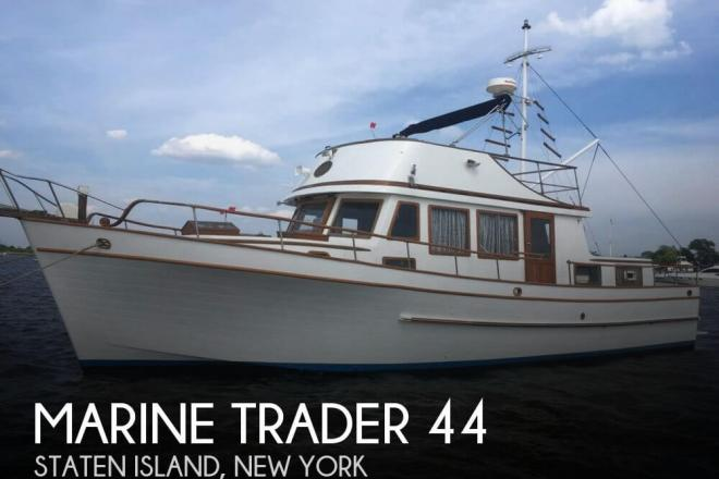 1978 Marine Trader 44 - For Sale at Staten Island, NY 10301 - ID 127159