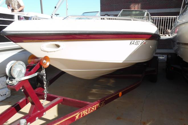 1997 Crownline 225 BR and Trailer - For Sale at Osage Beach, MO 65065 - ID 128189