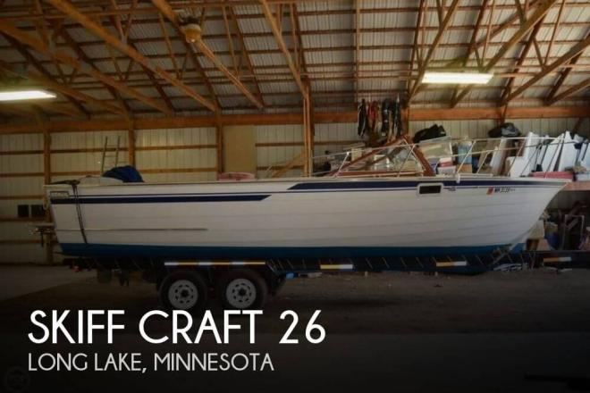 1984 Skiff Craft X-260 - For Sale at Long Lake, MN 55356 - ID 128986