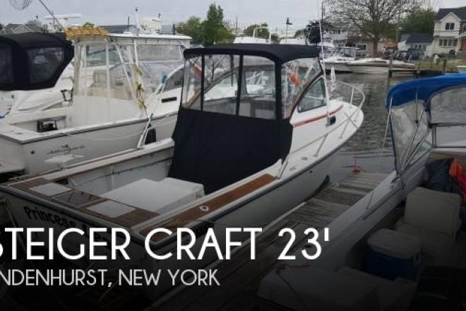 1989 Steiger Craft 23 Block Island - For Sale at Lindenhurst, NY 11757 - ID 129047