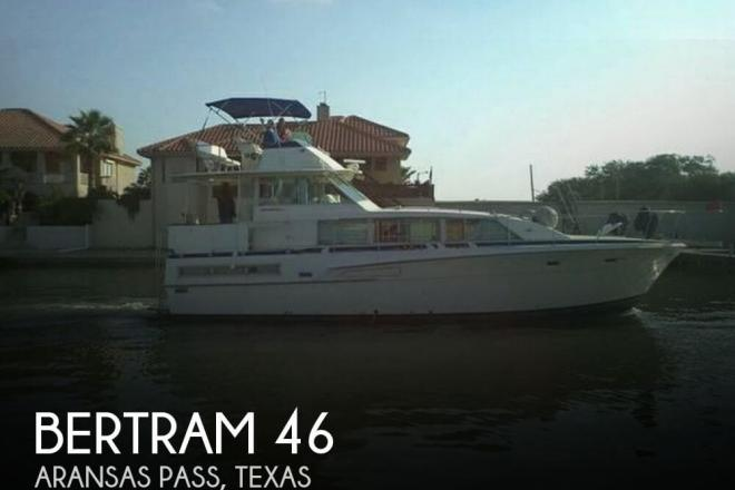 1976 Bertram 46 MOTORYACHT - For Sale at Aransas Pass, TX 78335 - ID 129094