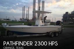 2014 Pathfinder 2300 HPS