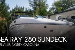2014 Sea Ray 280 Sundeck