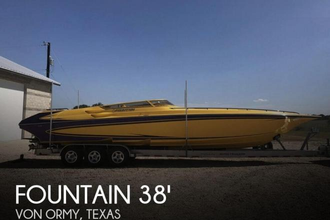 2007 Fountain 38 Lightning - For Sale at Von Ormy, TX 78073 - ID 129200