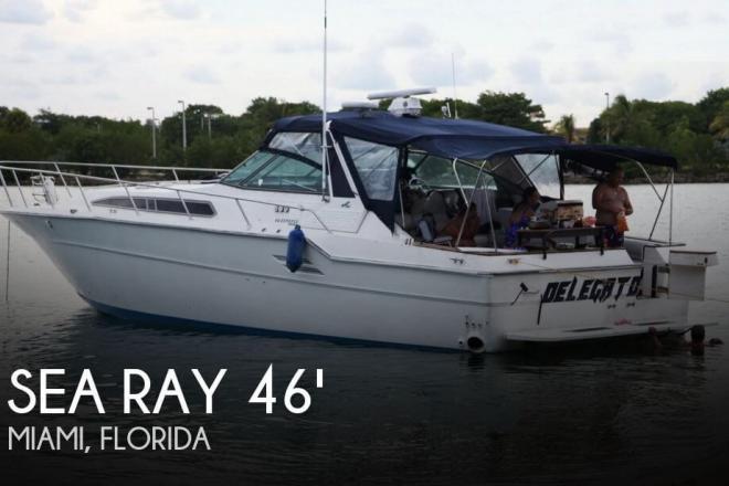1988 Sea Ray 460 Express Cruiser - For Sale at Miami, FL 33177 - ID 102805