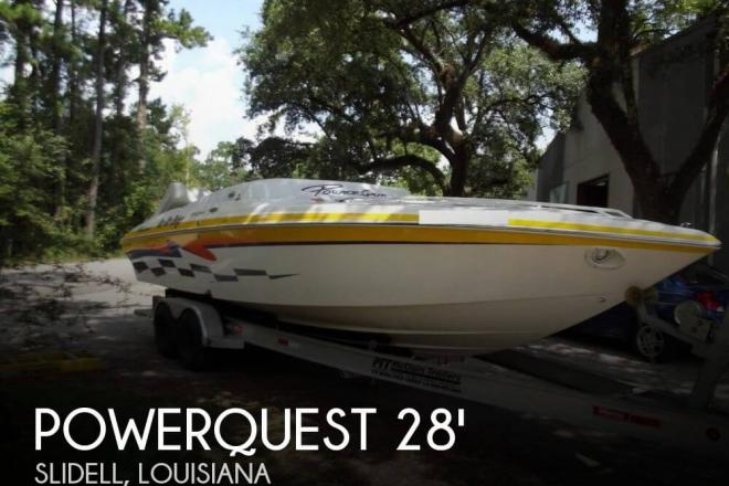2001 Powerquest 280 Silencer - For Sale at Slidell, LA 70458 - ID 75001