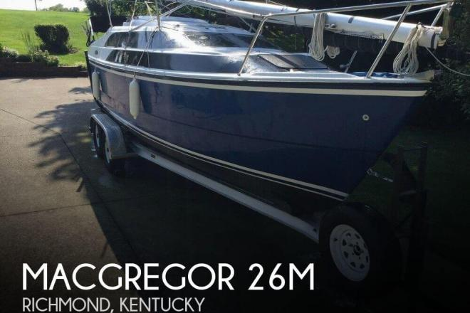 2007 Macgregor 26M - For Sale at Richmond, KY 40475 - ID 129111