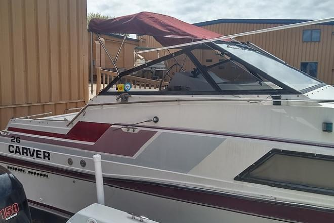 1986 Carver 26 MONTEGO - For Sale at Pewaukee, WI 53072 - ID 74792
